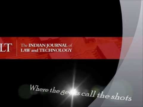 An Introduction to the Indian Journal of Law and Technology