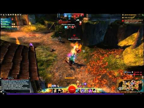Guild Wars 2  PvP Bastion   Elémentaliste Bâton