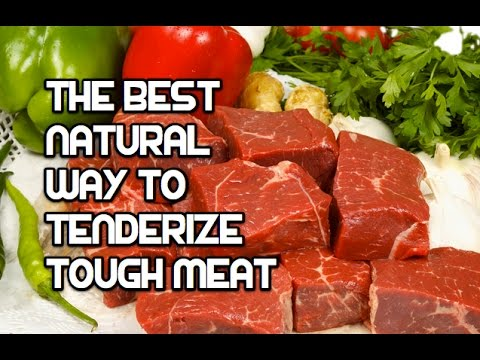 The Best Way to Tenderize Tough Meat