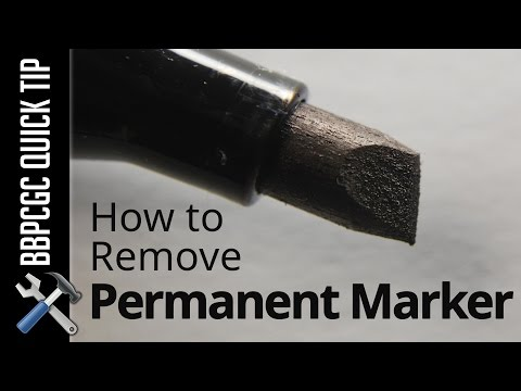 How to Remove Permanent Marker from Game Boxes - BBPCGC Quick Tip