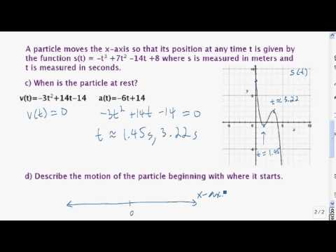 Particle Motion example