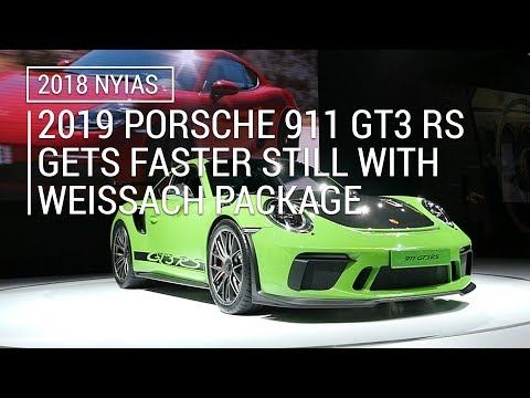 2019 Porsche 911 GT3 RS gets the Weissach Package | 2018 NYIAS
