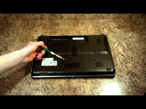 How To Replace the Optical Drive - HP Pavilion DV6 Laptop [HD]