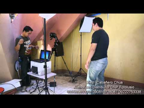 PHOTOBOOTH SETUP POWERED BY DNP FOTOLUSIO DSRX-1