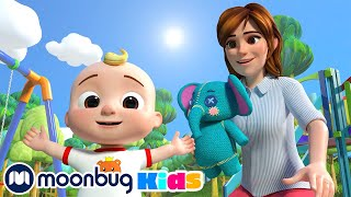 Yes Yes Playground Song - Sing Along   @Cocomelon - Nursery Rhymes   Moonbug Literacy
