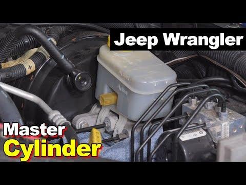 2007-2017 Jeep Wrangler JK Bench Bleed Brake Master Cylinder