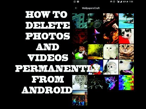 Latest Trick 2017 How To Delete Permanently Deleted Photos and Videos on Android