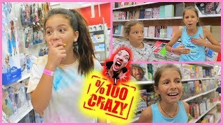 """100 % CRAZY IN TARGET  """" MYSTERIOUS THINGS HAPPENED """" SISTER FOREVER"""