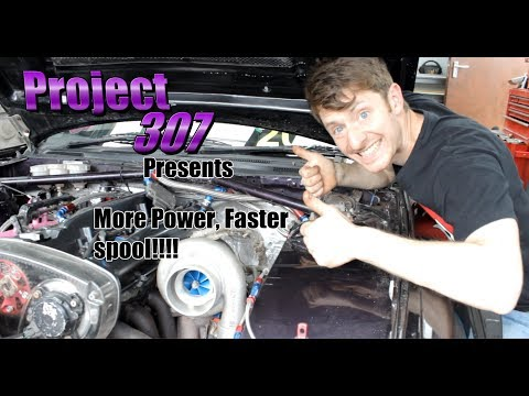 More Power and faster spool up Project 307 episode 6