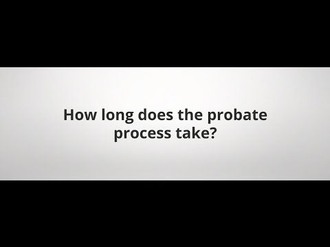 How long does the probate process take? | Newnan, Georgia