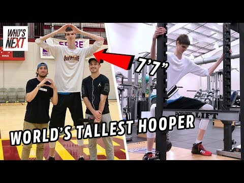 """This 7'7"""" HS Junior Is Now LAMELO BALL'S Teammate. Can Robert Bobroczky Go From Spire To The NBA? 😱"""