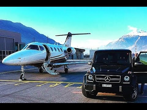 Private Jets Of The Rich And Famous Wolf Of Wall Street Penny Stock Trader Celebrities