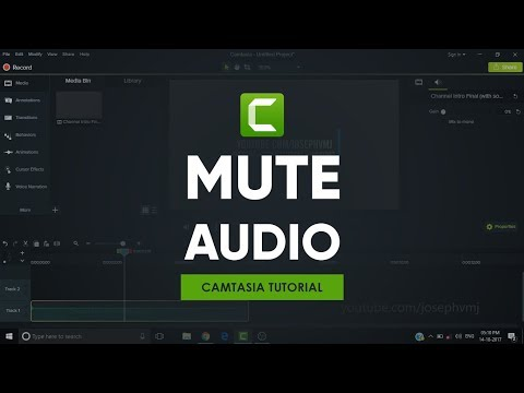 Mute Audio | Camtasia Tutorial