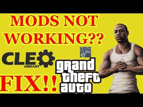 MODS NOT WORKING? GTA SAN ANDREAS|GAMING|SOFTWARES