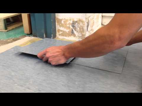 How to cut VCT (tile) using a torch