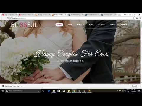 Step by step guide to convert HTML template to WordPress theme   Part 1