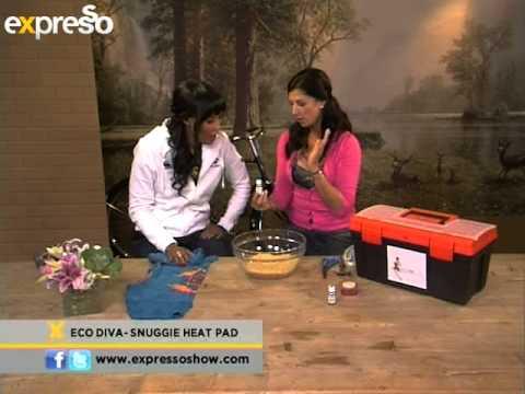 Eco Diva: Snuggie Heat Pad (3.5.2013)