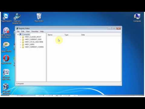 Windows 7 Tips and Tricks : How to access registry