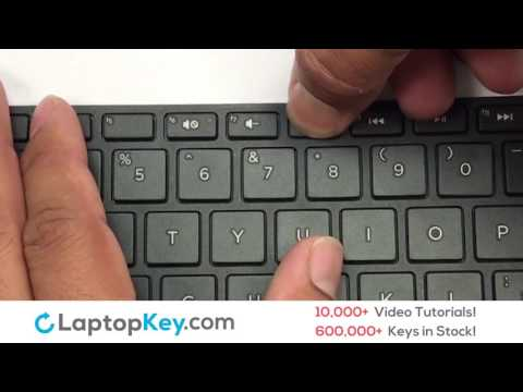 Replace Keyboard Key HP Pavilion 15-E 17-E | Fix Laptop Installation Repair
