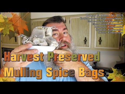 How To Make MULLING SPICE BAGS - Day 16,850