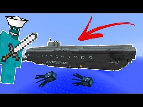 SUBMARINE CLAY SOLDIER BATTLE! • (CRAZY FIGHT!) • Minecraft Clay Soldiers Mod!