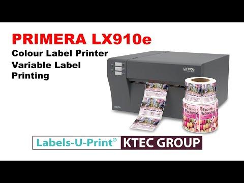 PRIMERA LX910e Colour label printer -  KTEC GROUP UK