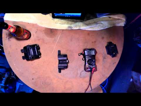 Buell Ignition Coil - Checking Ohm's