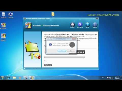Create a Windows 7 Password Reset Disk with USB Flash Drive