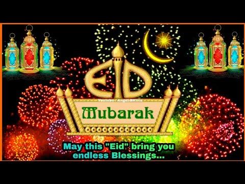 Eid Mubarak Video 2018 New Video Song - Eid Mubarak Wishes/Greetings/SMS 2018.
