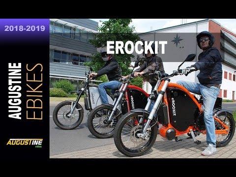 eROCKIT, the fastest e-Bike in the world. Electric bikes.