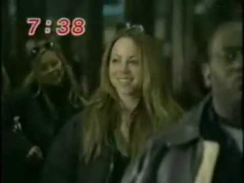 Mariah Carey arrives at Tokyo Narita Airport for the Butterfly Tour