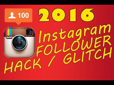 INSTAGRAM FOLLOWER GLITCH/HACK 2016 (100% WORK)