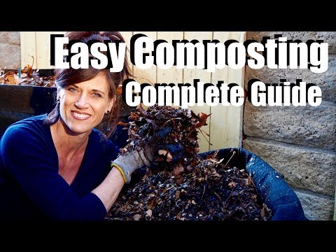 How to Make Compost From Start to Finish-Quick & Easy /Complete Guide with Digital Table of Contents
