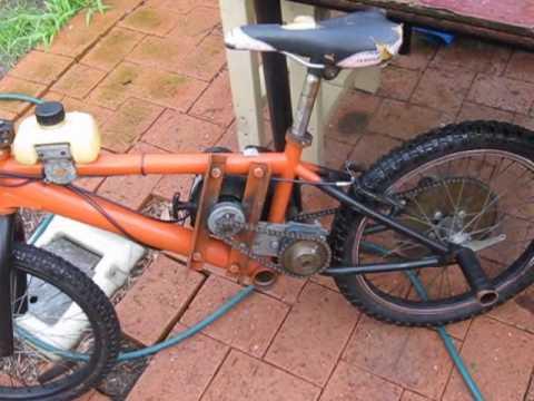 How I Built My Weed Wacker Bike