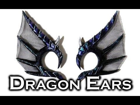 DIY Dragon Ears | Worbla Build