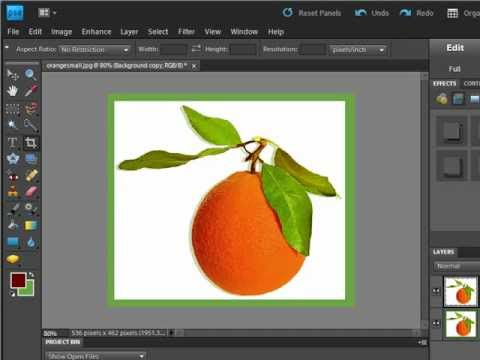 How to Create a Border in Photoshop Elements