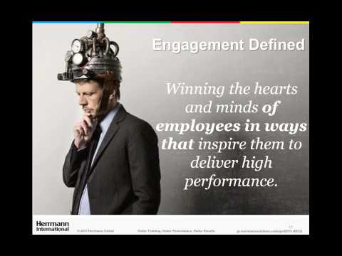 "HRDQ Webinar: Developing ""Thinking Managers"" To Bridge the Engagement Gap"