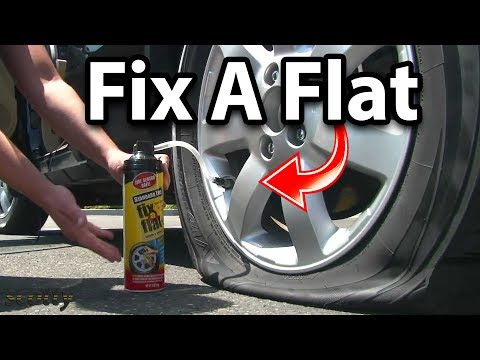 Does Fix-a-Flat Really Work? (How Fix a Flat Tire)