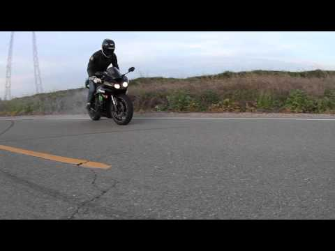 Kawasaki Monster Energy Ninja ZX6R -vs- School boy Q