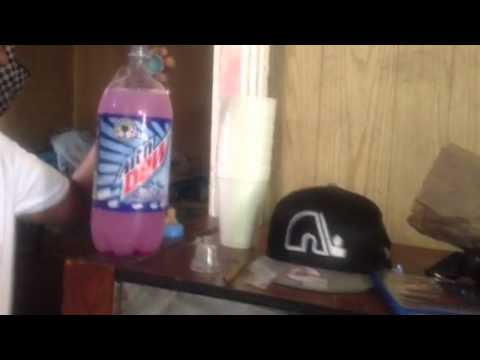 CODEINE AND MOUNTAIN DEW WHITE OUT