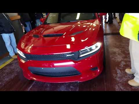 Dodge Charger HELLCAT at dealer auction