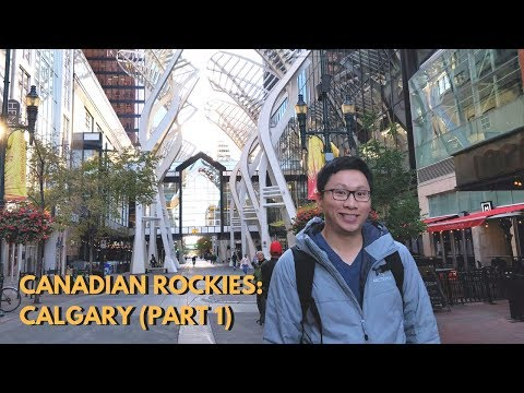 Exploring Calgary + Marriott Gold Status Upgrade! (Banff Trip Part 1)