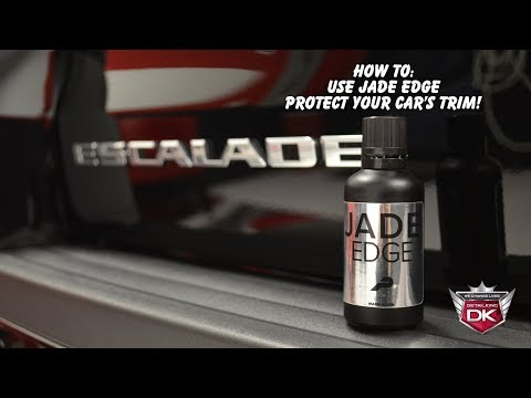 Protect Your Car's Trim with Jade Edge Ceramic Coating!