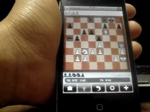 Trick to win against Fritz Chess on iPhone (Grandmaster Level) under 33 moves