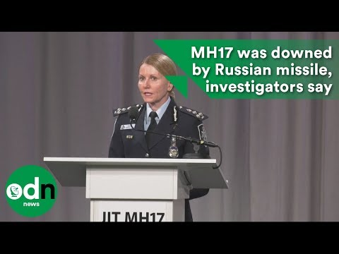 MH17 WAS downed by Russian missile, say investigators