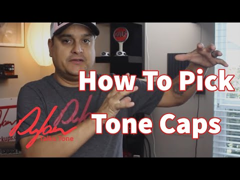 How To select the right capacitor for your guitar! 3 tips - Dylan Talks Tone - Episode 214