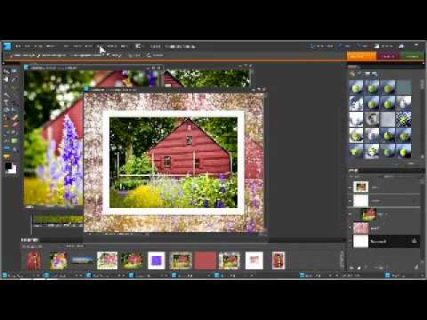Using Brushes to Make Borders and Frames in Photoshop and Elements