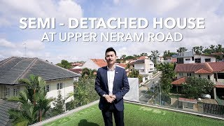 Singapore Landed Property Listing Video - Yio Chu Kang Upper Neram Road Semi Detached House