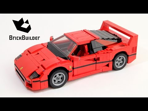 Lego Creator 10248 Ferrari F40 - Lego Speed Build