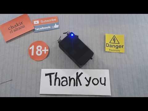 voltage generator 400kv جهاز لحماية نفسك من أشرار و حيونات مفترسة